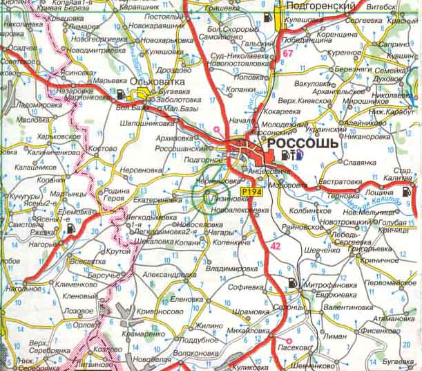 Карта жд дорог краснодарский