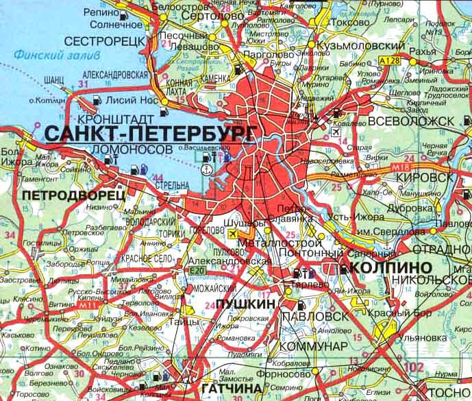 Санкт-Петербург - Москва -